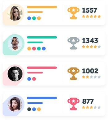 training and onboarding gamification leaderboard